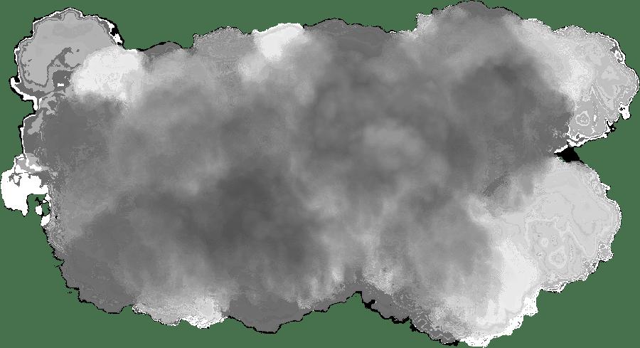 Grey cloud transparent stickpng. Black smoke png