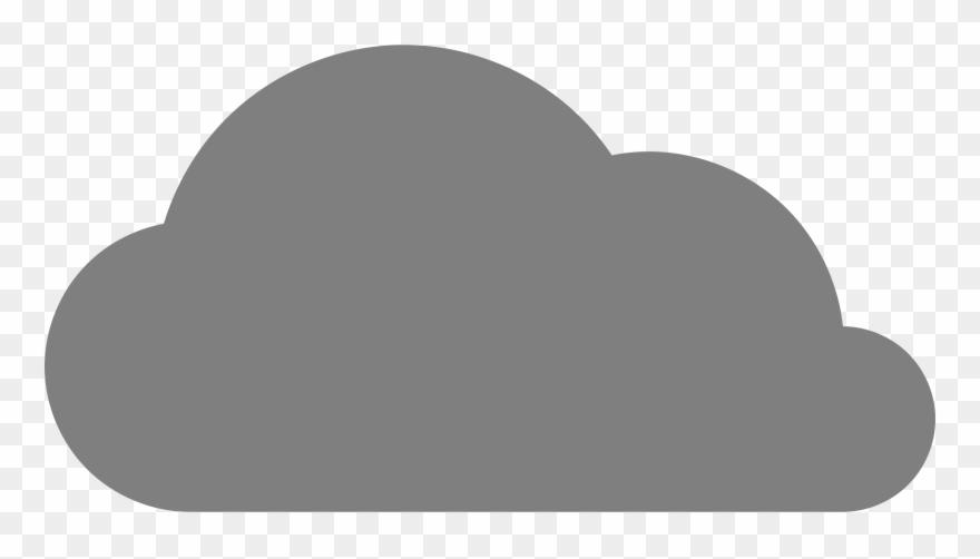 Cartoon png pinclipart . Clipart cloud grey