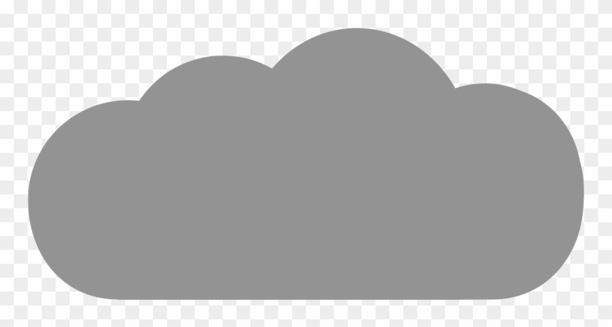 Clipart cloud grey. Big gray icon png