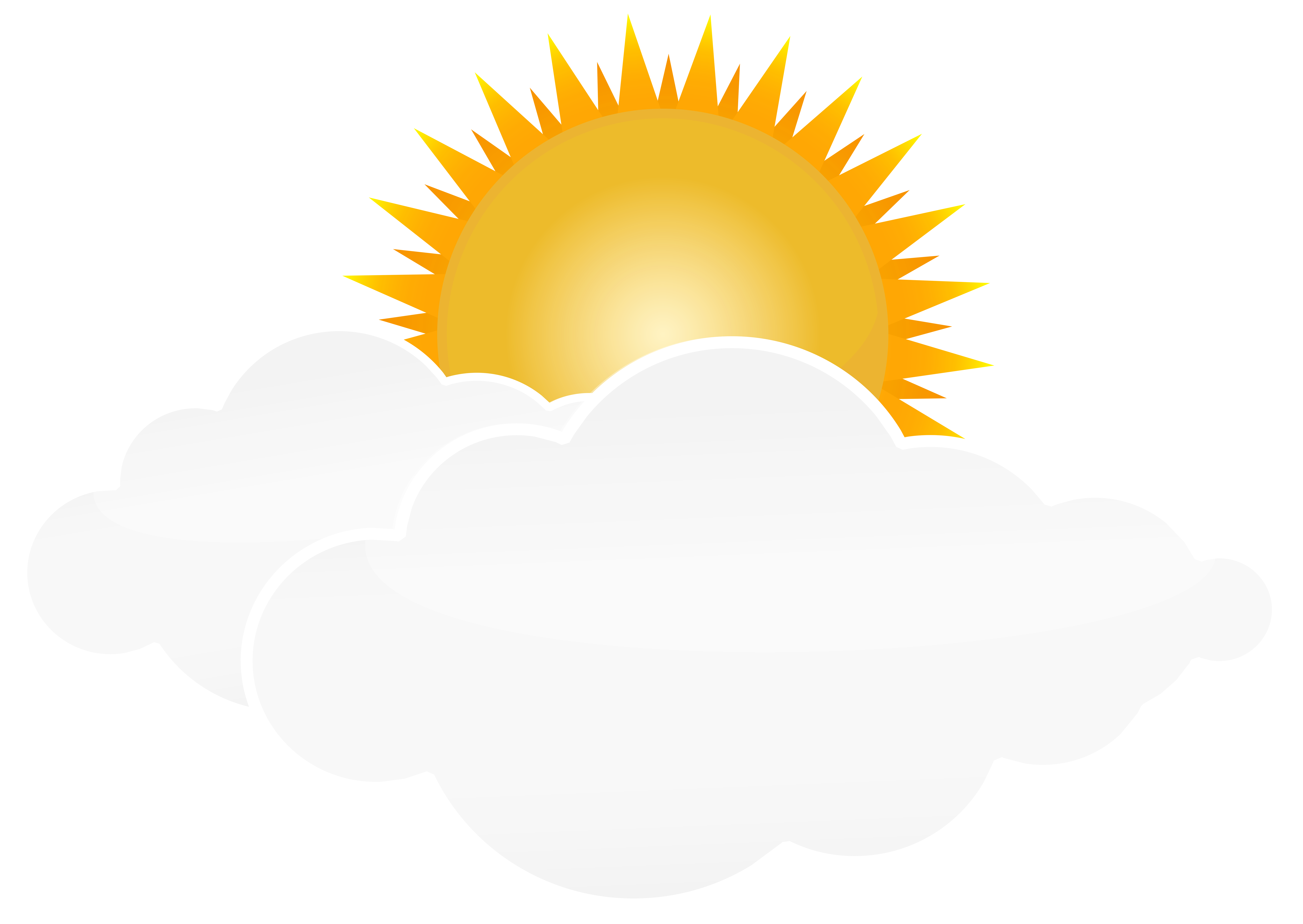 Clipart sun afternoon. With clouds png transparent