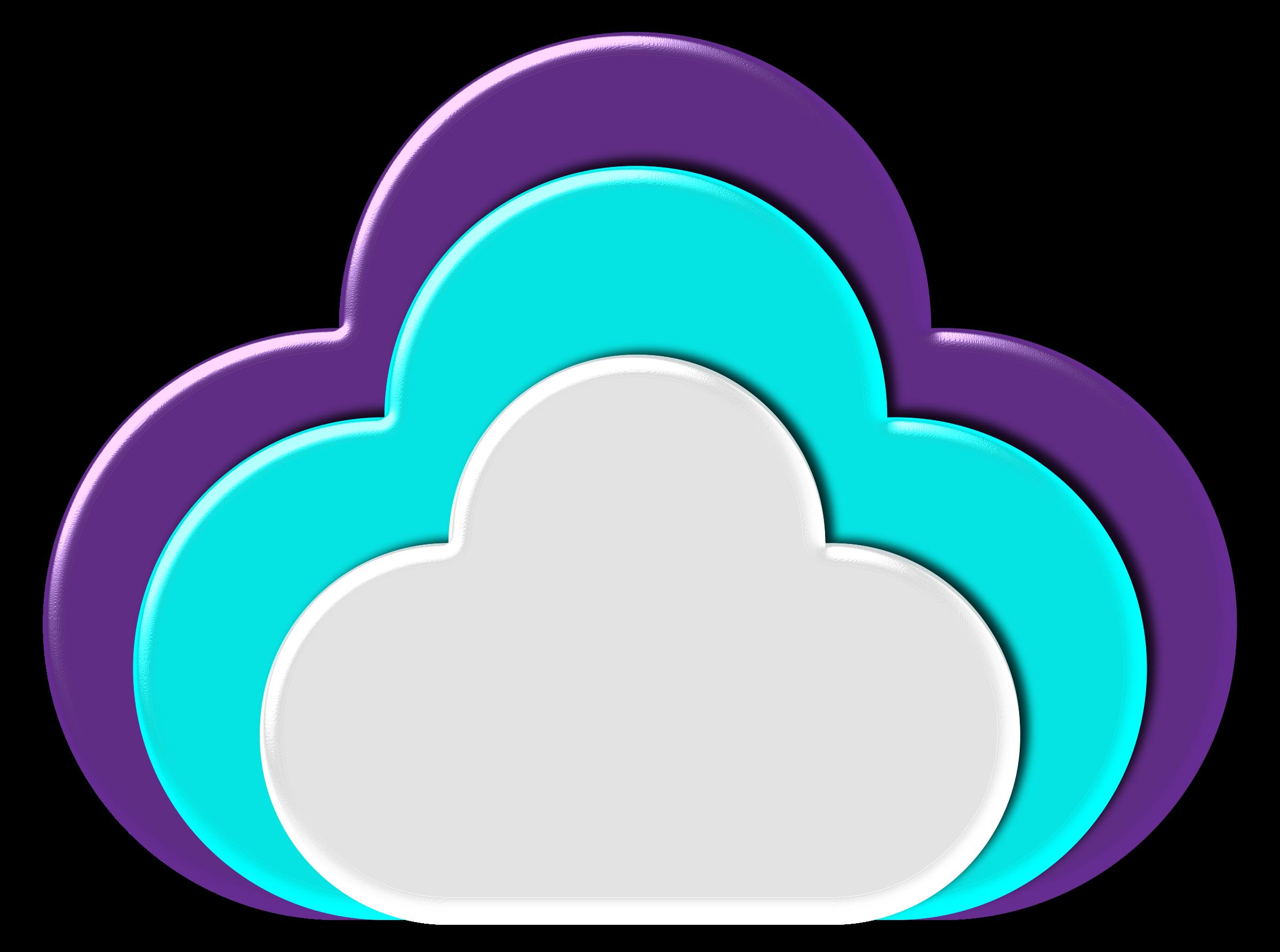 Communication clipart cloud. Icon big image png