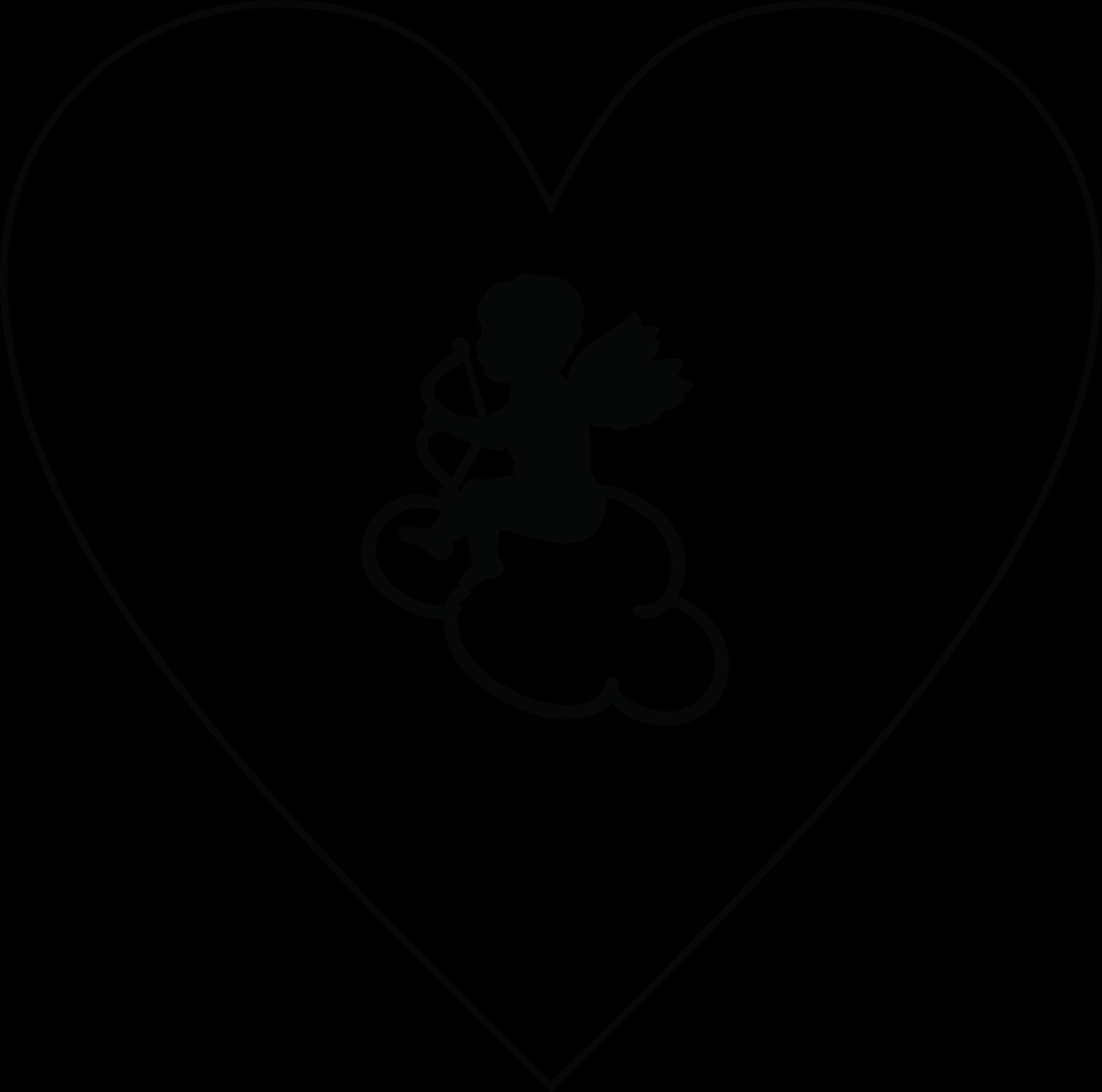 Cupid big image png. Cloud clipart heart