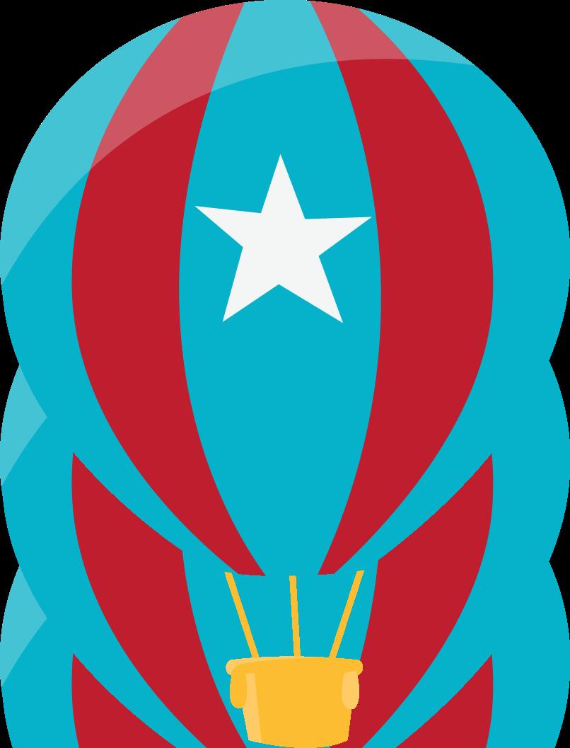 Aviador pinterest clip art. Clipart rainbow hot air balloon