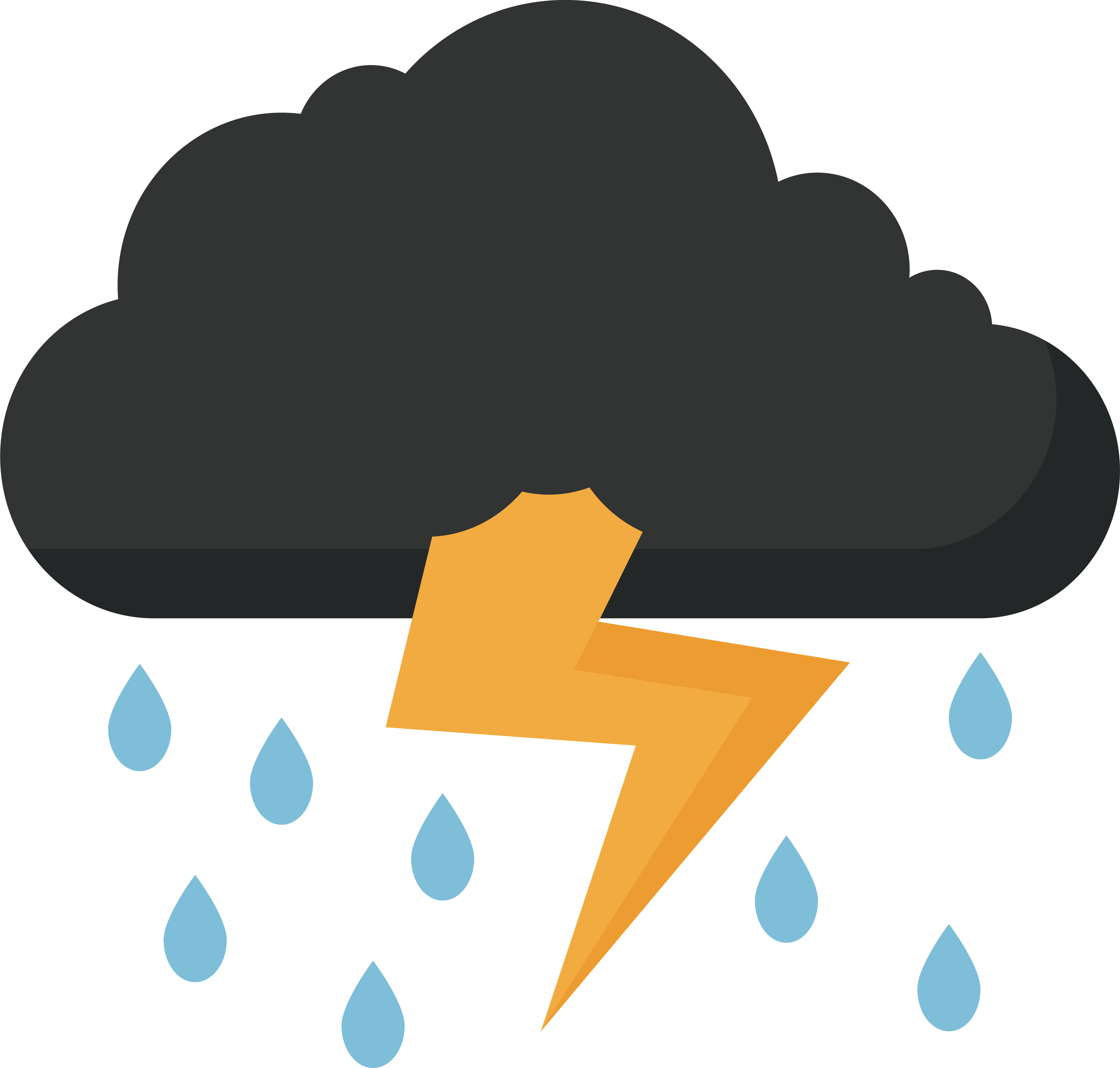 Thunder and at getdrawings. Cloudy clipart lightning cloud