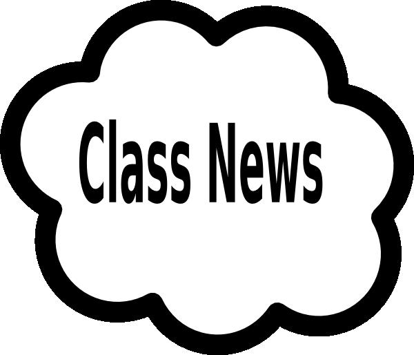 Newspaper clipart edition. Class news cloud clip