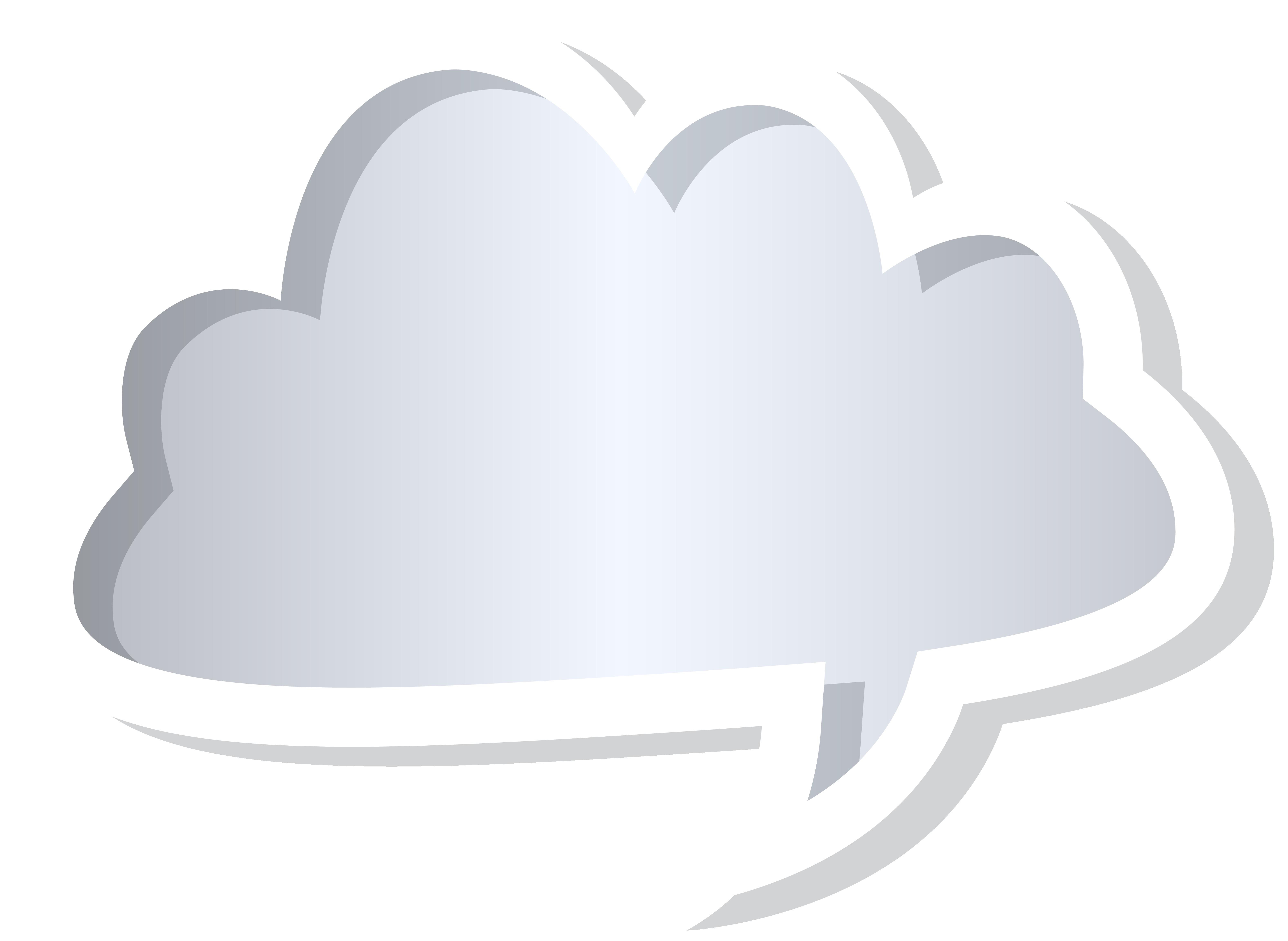 Bubble speech grey png. Cloud clipart heart