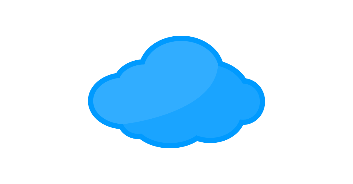 Cloud vector and png. Clipart clouds logo