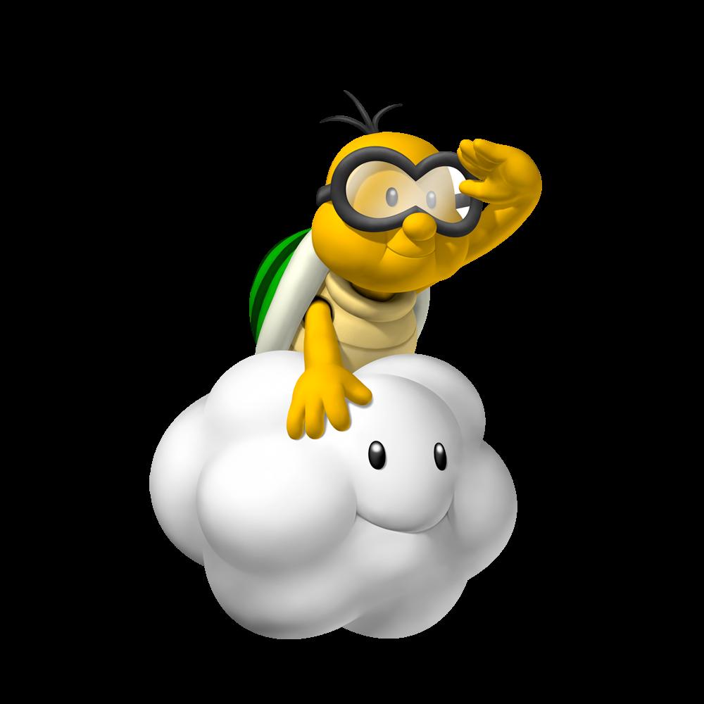 New super promotional art. Cloud clipart mario bros