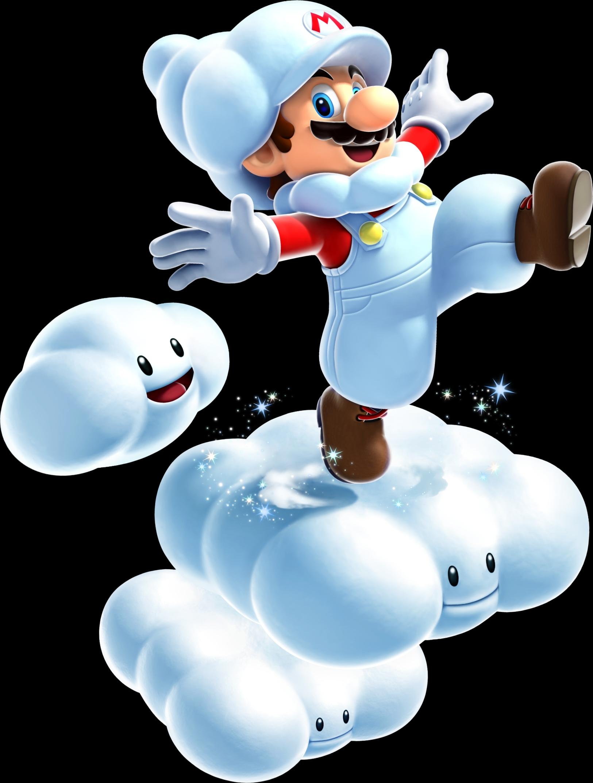 Cloud clipart mario bros. Super galaxy wiki fandom