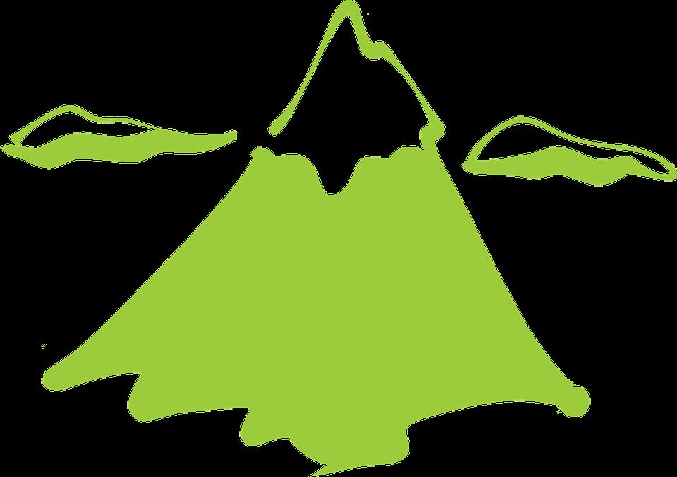 Clipground peak logo clip. Clipart cloud mountain