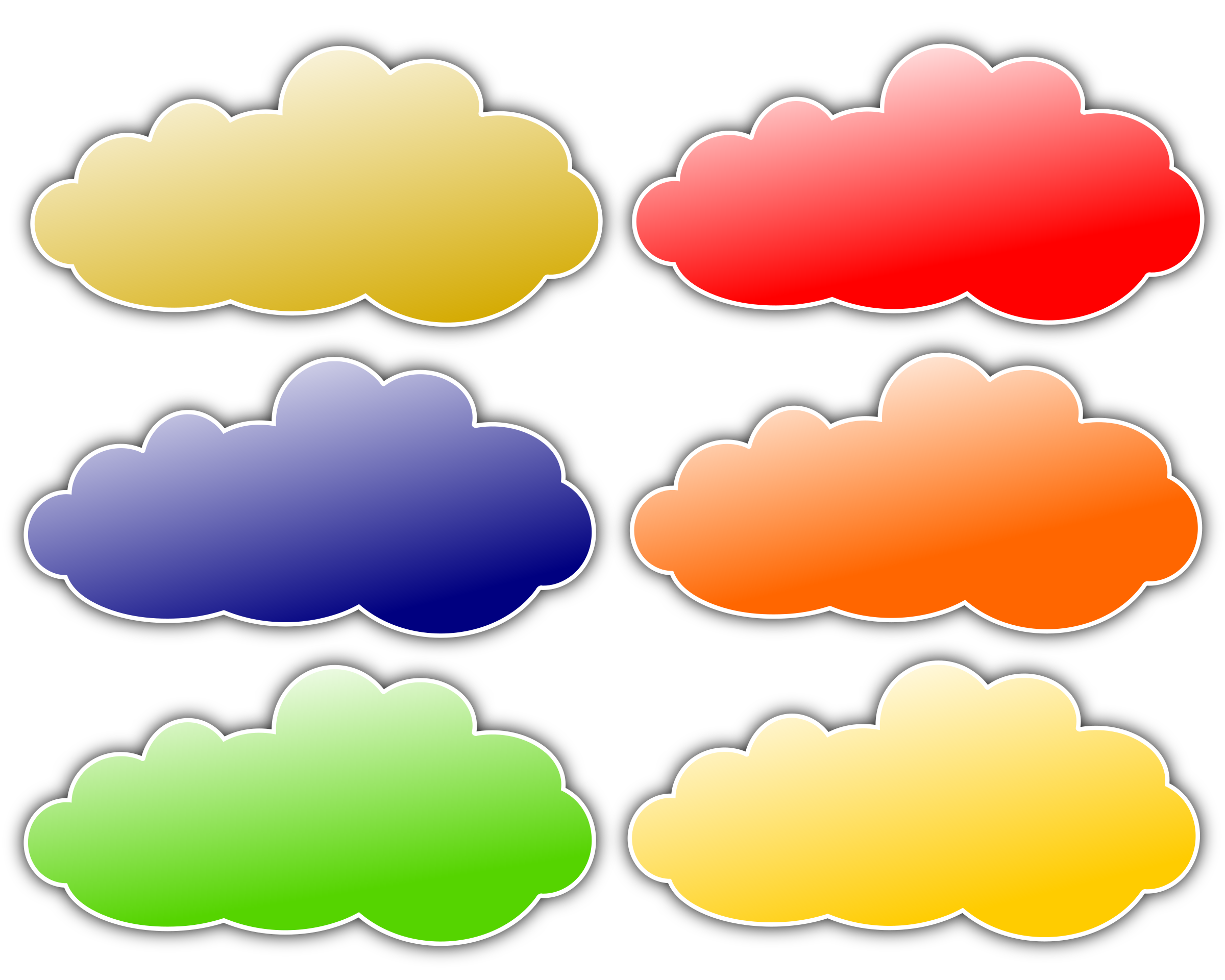 Orange clipart clouds. Colour big image png