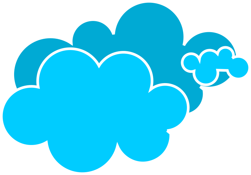 Types of application edciteviewer. Clouds clipart jpeg