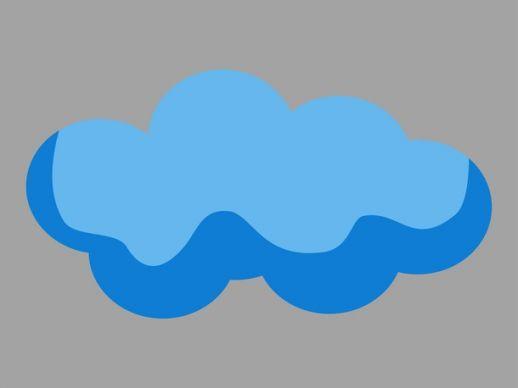 Clipart clouds pdf. Free cloud cartoon vector