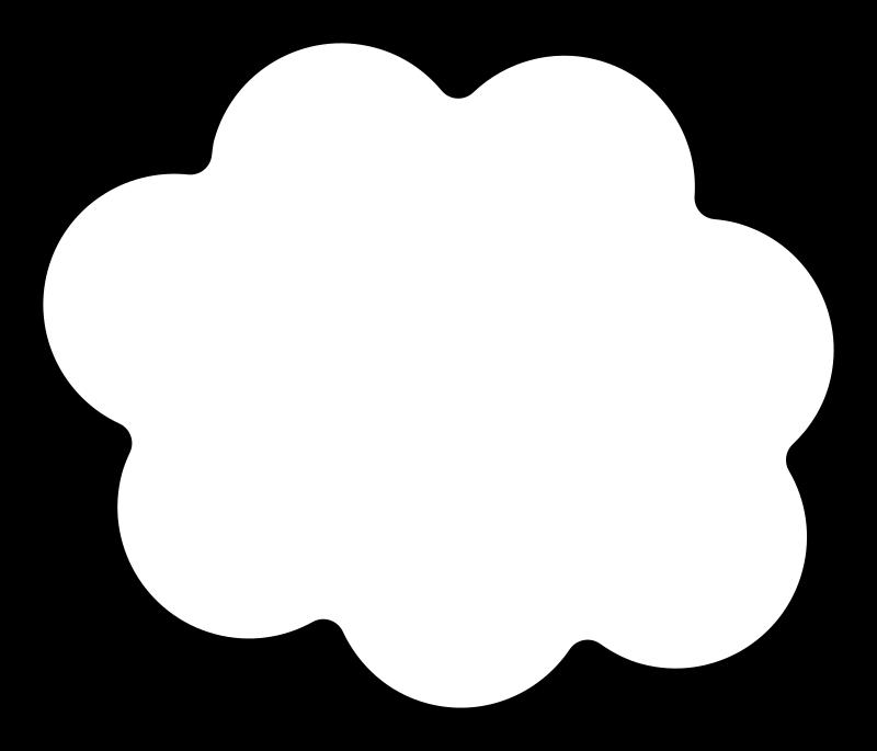 Cloud medium image png. Clipart clouds pdf
