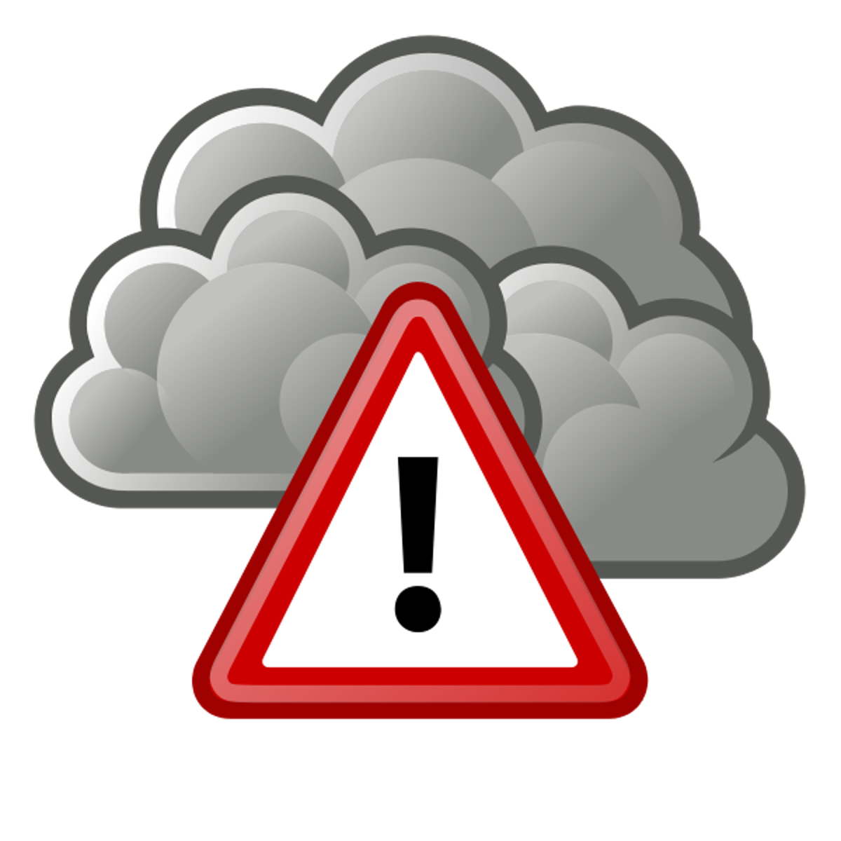 Stage ii air pollution. Clouds clipart polluted