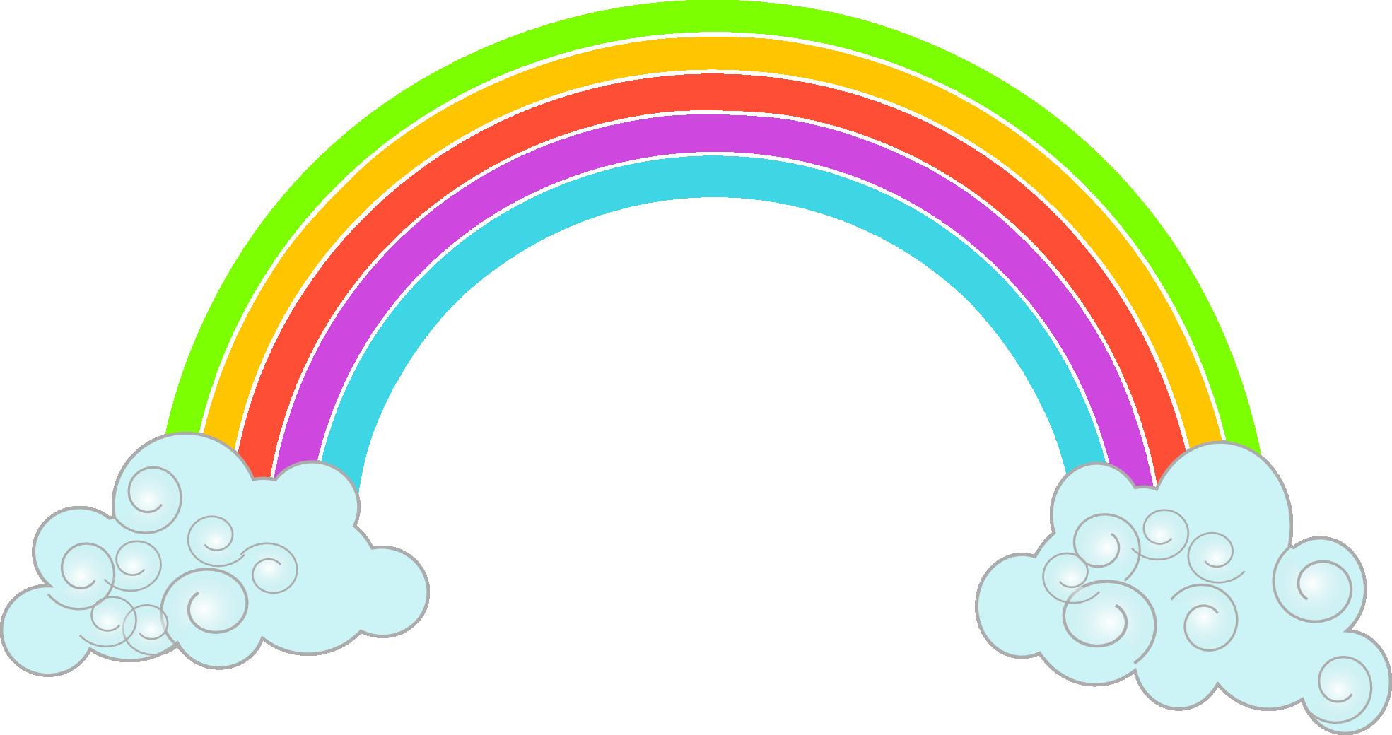 Resultado de imagen para. Clipart rainbow weather