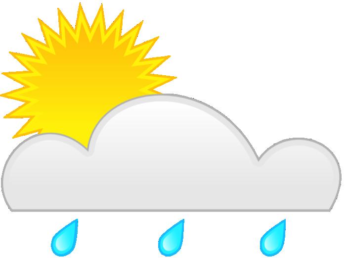 Animated rain panda free. Clouds clipart weather