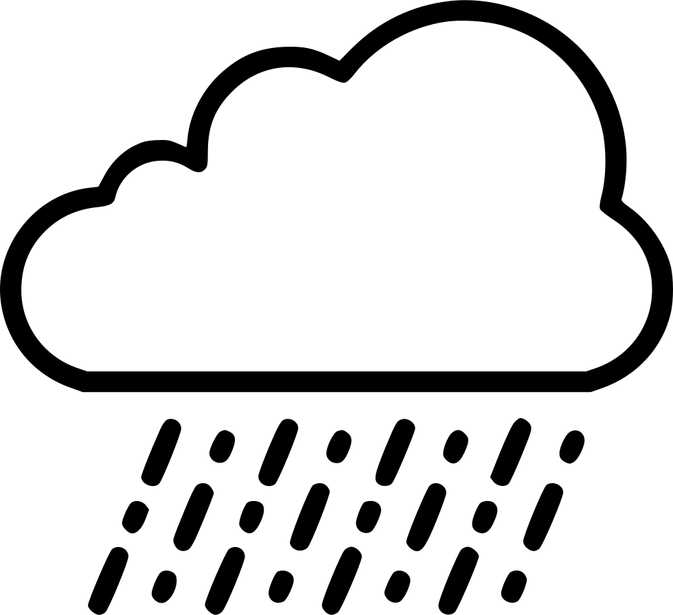 Rain cloud drawing at. Clouds clipart sketch