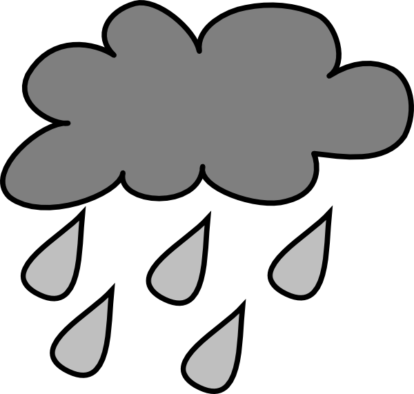 Rain clouds panda free. Wednesday clipart rainy