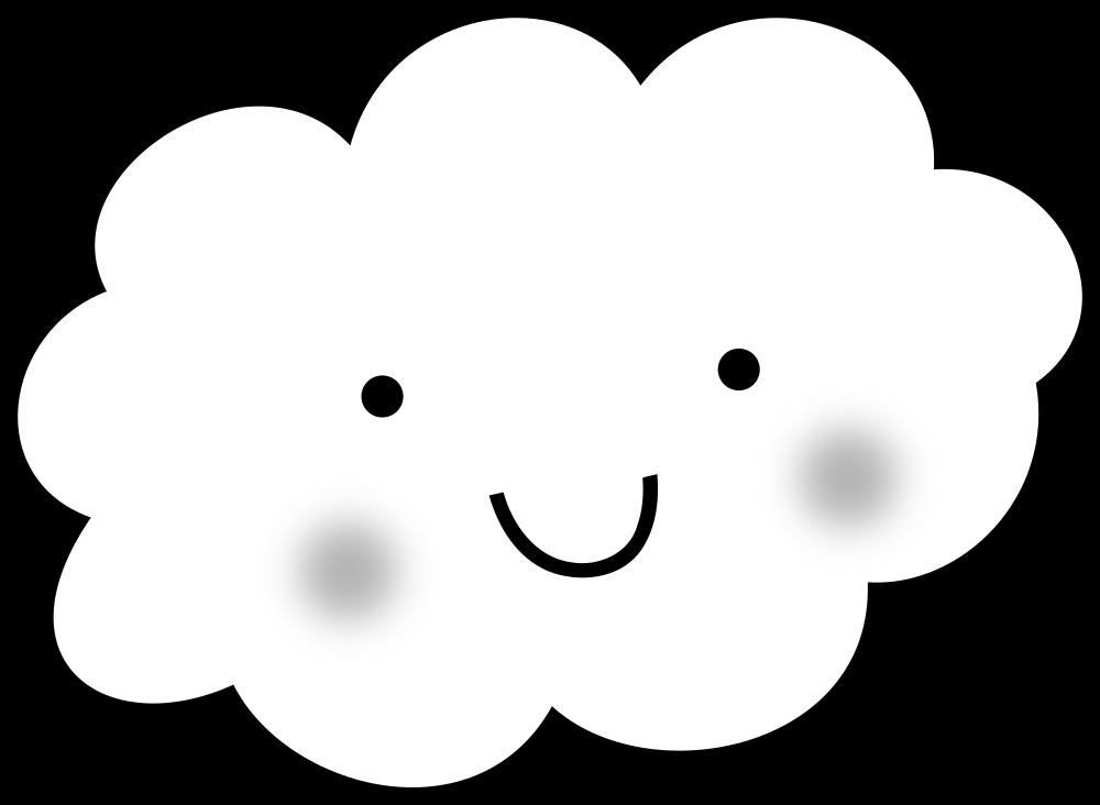 Onlinelabels clip cute cloud. Clouds clipart line art