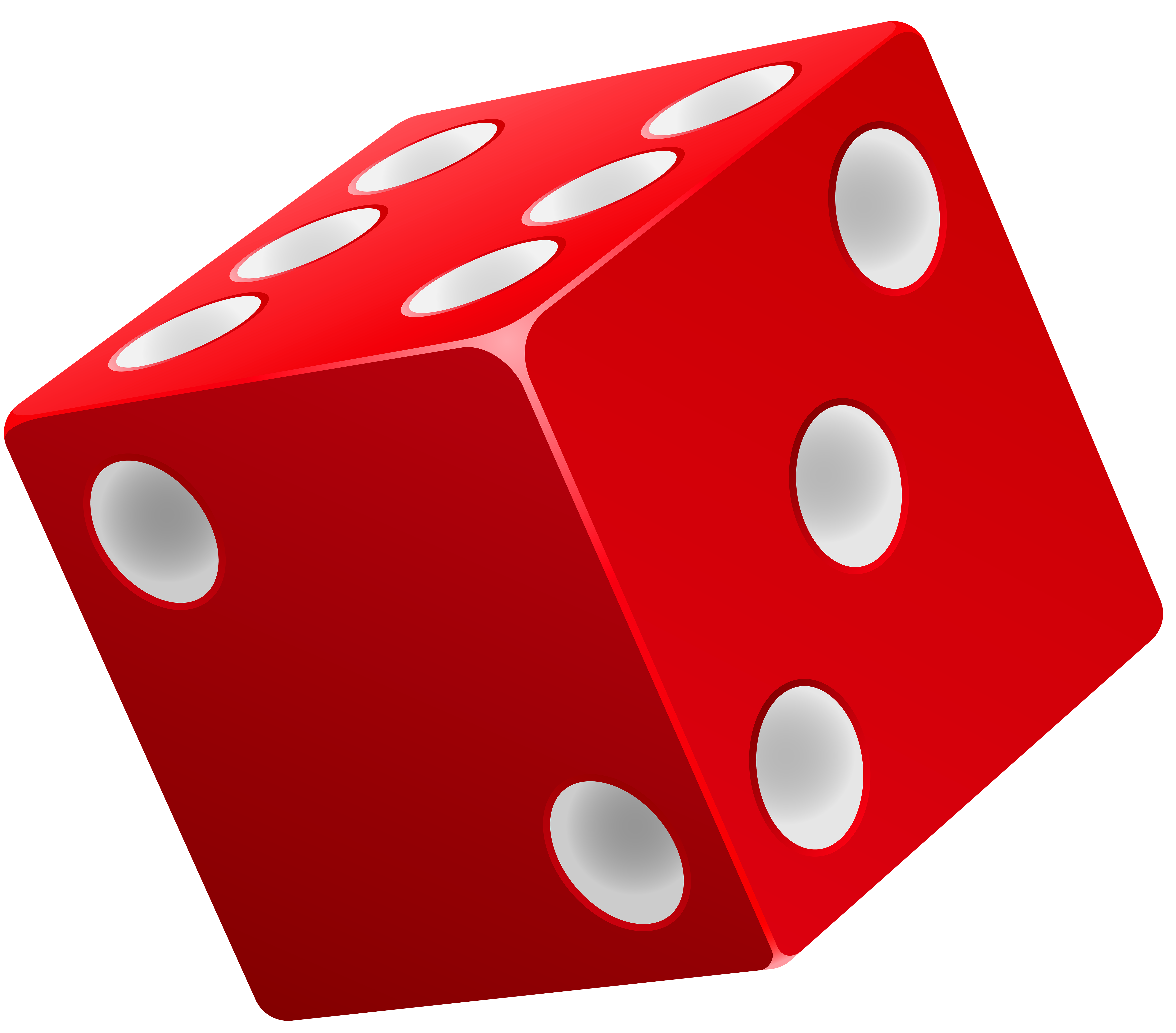Dice red png clip. Games clipart recreation