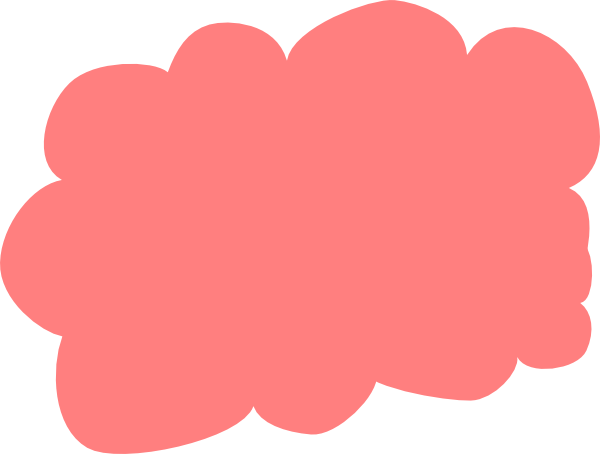 Clip art at clker. Clouds clipart red