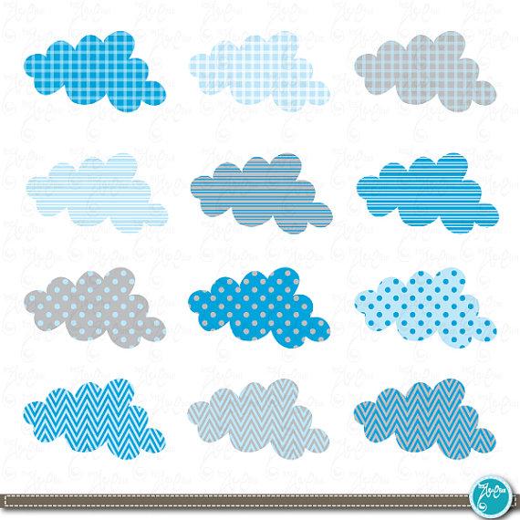 Cloud clipart scrapbook. Clip art blue baby