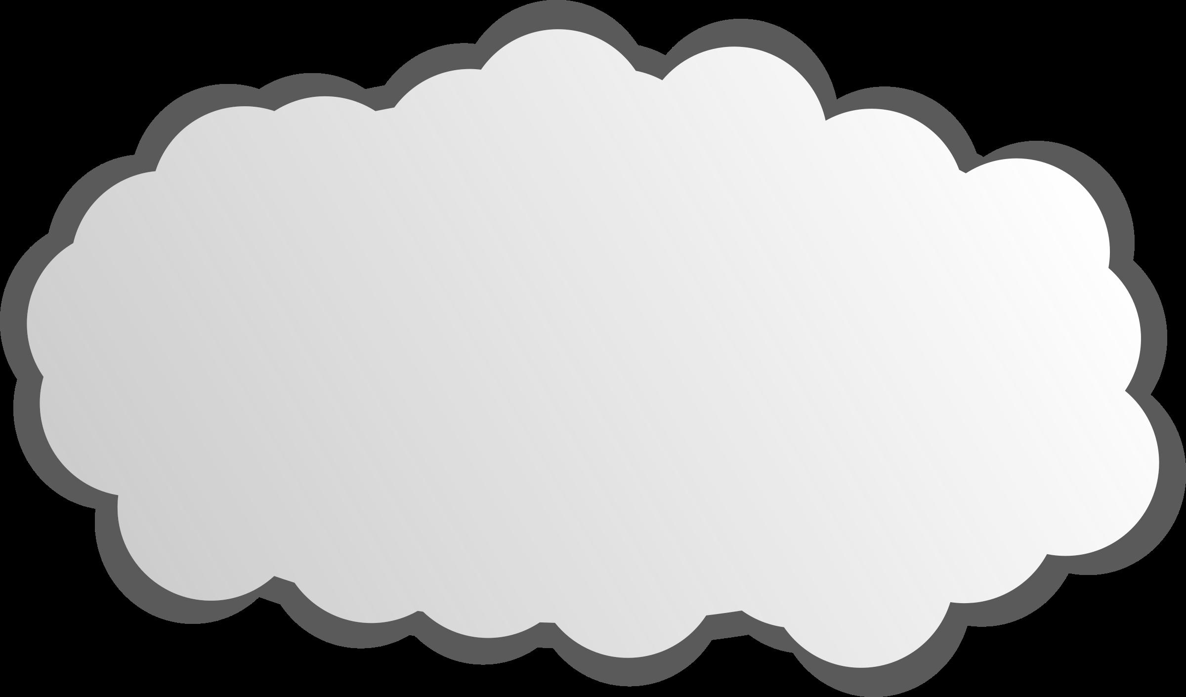Cloud clipart simple. Big image png
