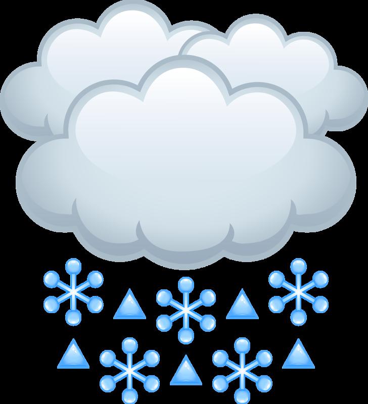 Cartoon clip art snow. Heart clipart cloud