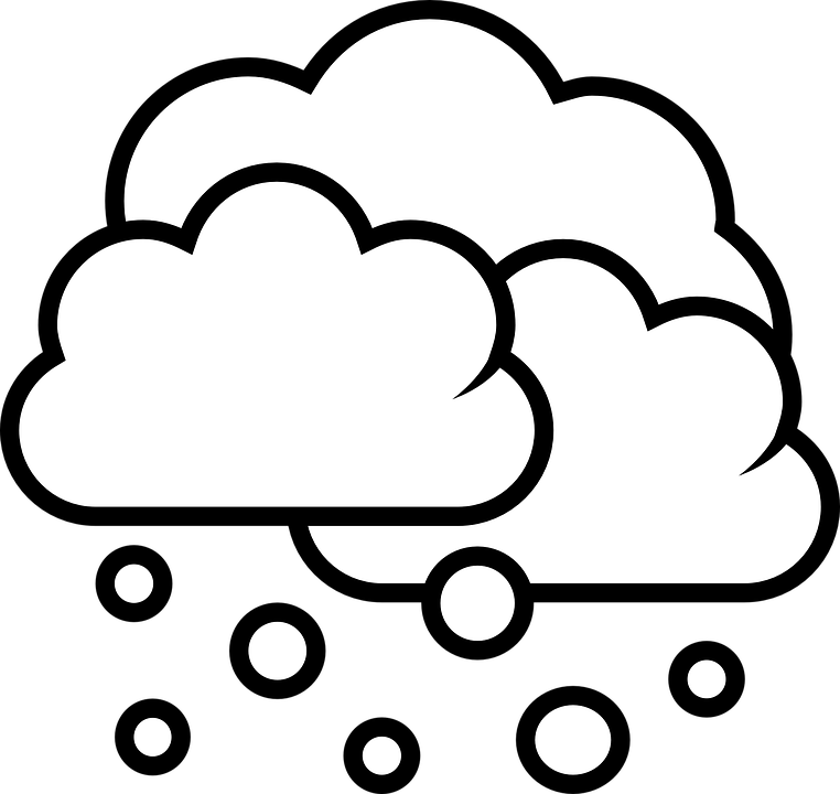 Cloud png black and. Clipart snow snow storm
