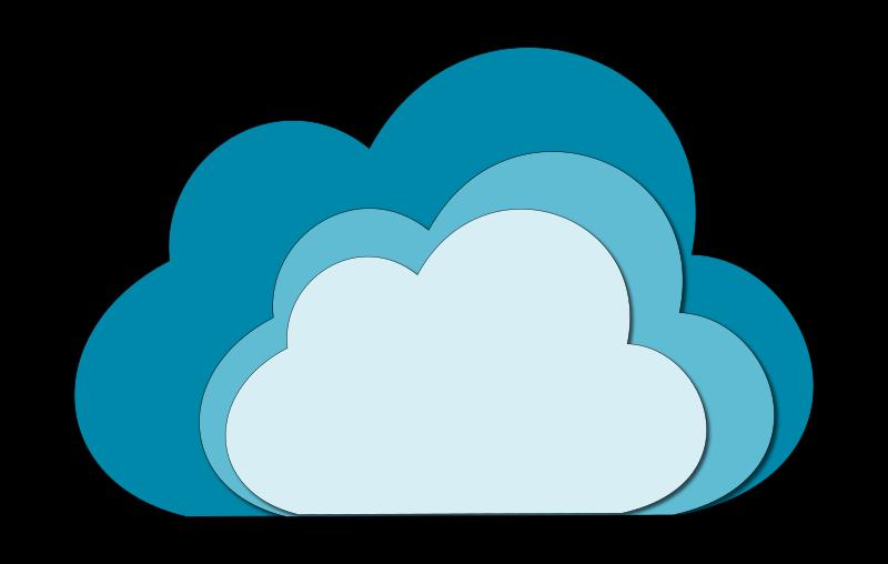 Cloud clip outline panda. Clouds clipart line art