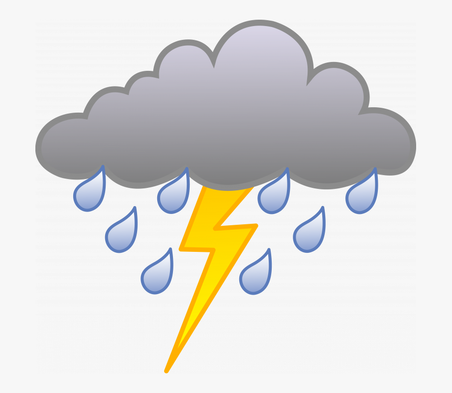 Thunderstorm clipart stormy cloud. Transparent background storm