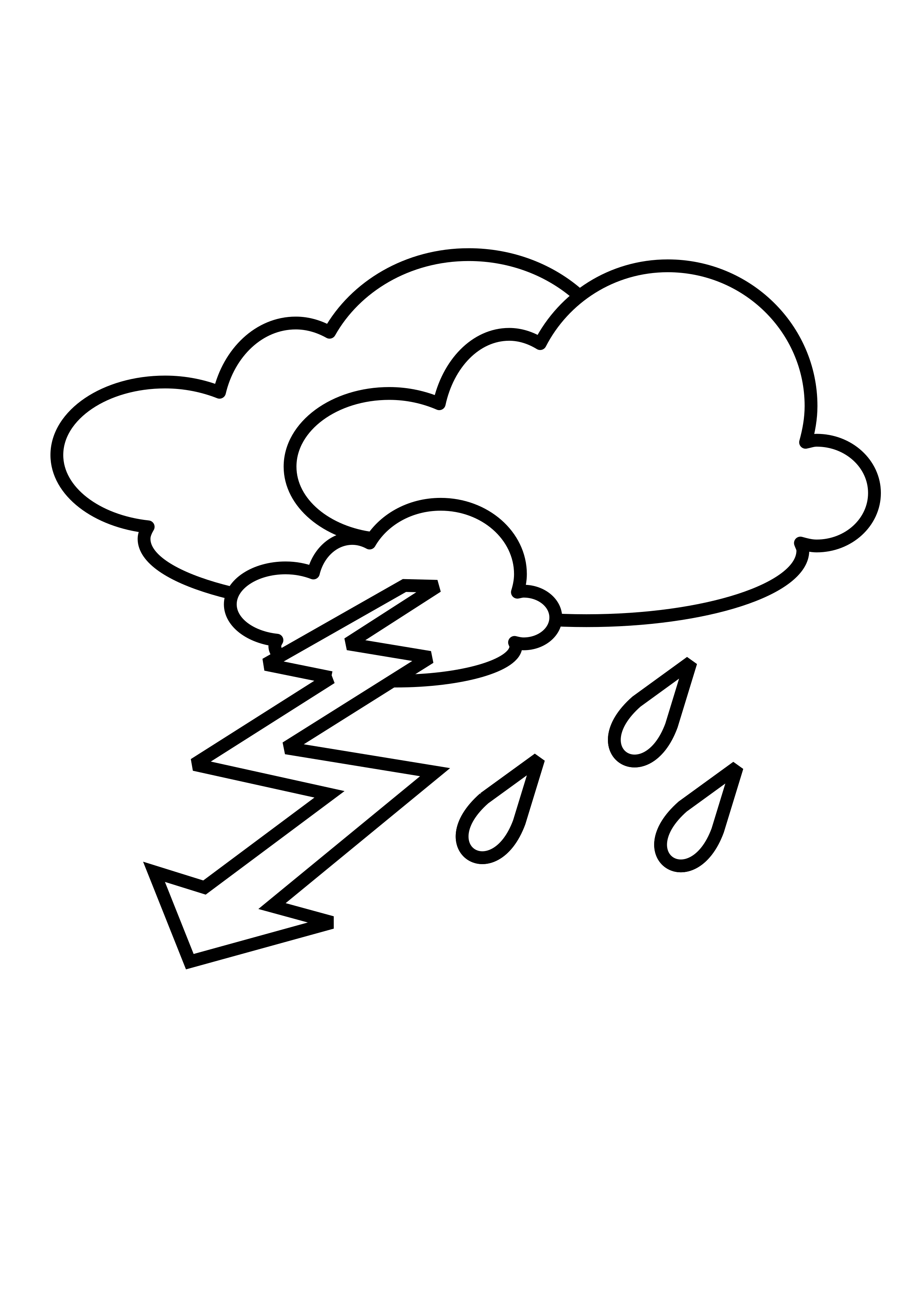 Lightning clipart stormy. Outline big image png