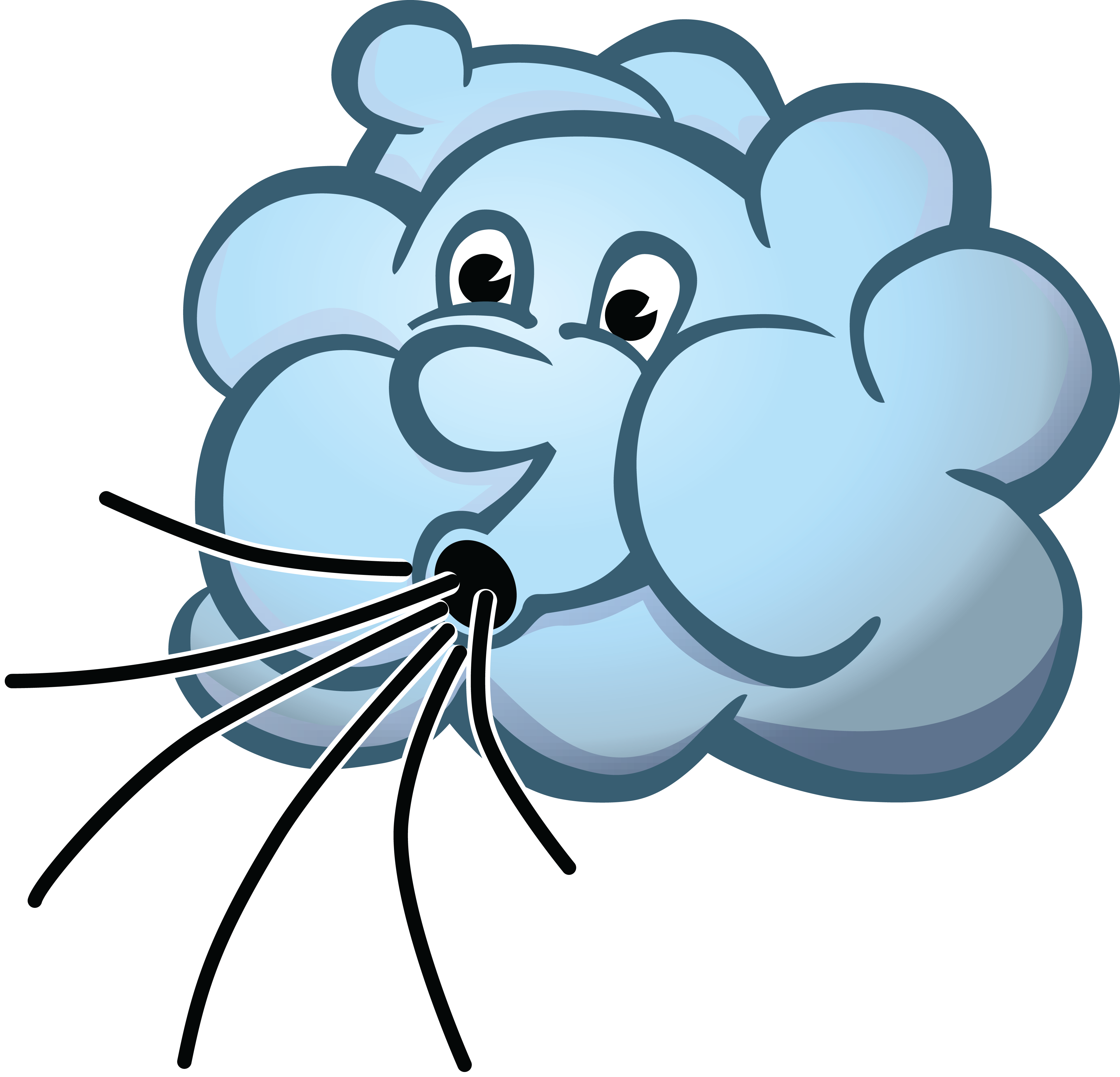 Cloud wind clip art. Hurricane clipart stormy day