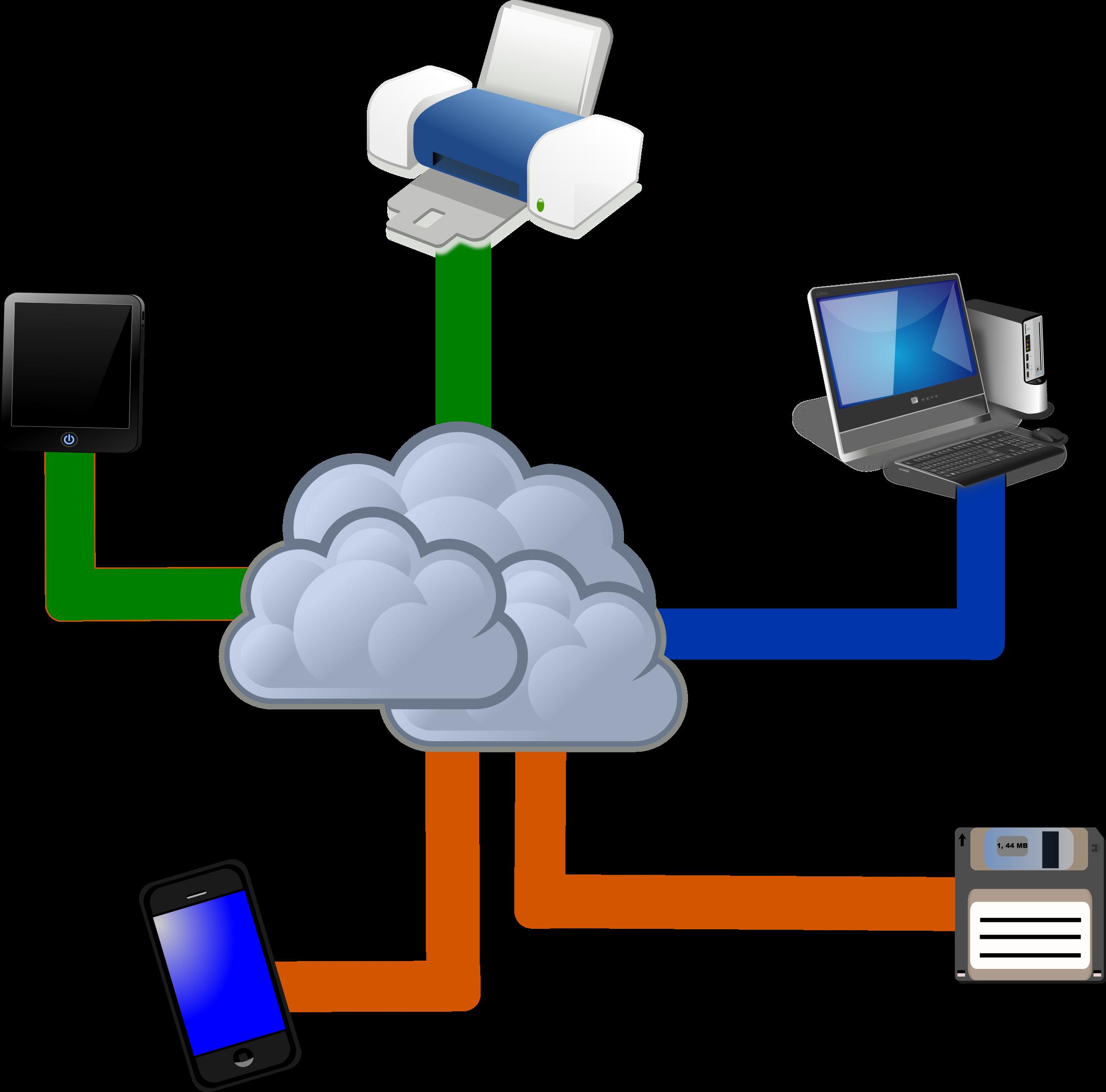 Cloud big image png. Clipart computer computing