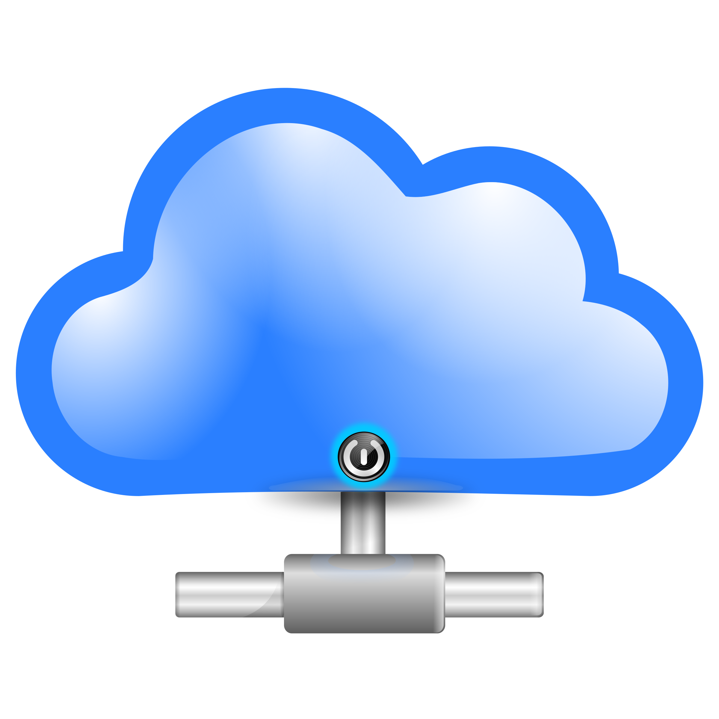 Clipart computer computing. Cloud big image png