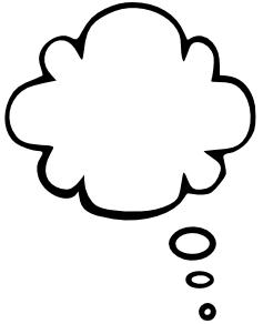 Cloud clipart text. Bubble tall left panda