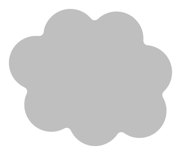Cloud clipart text. Icon white border clip