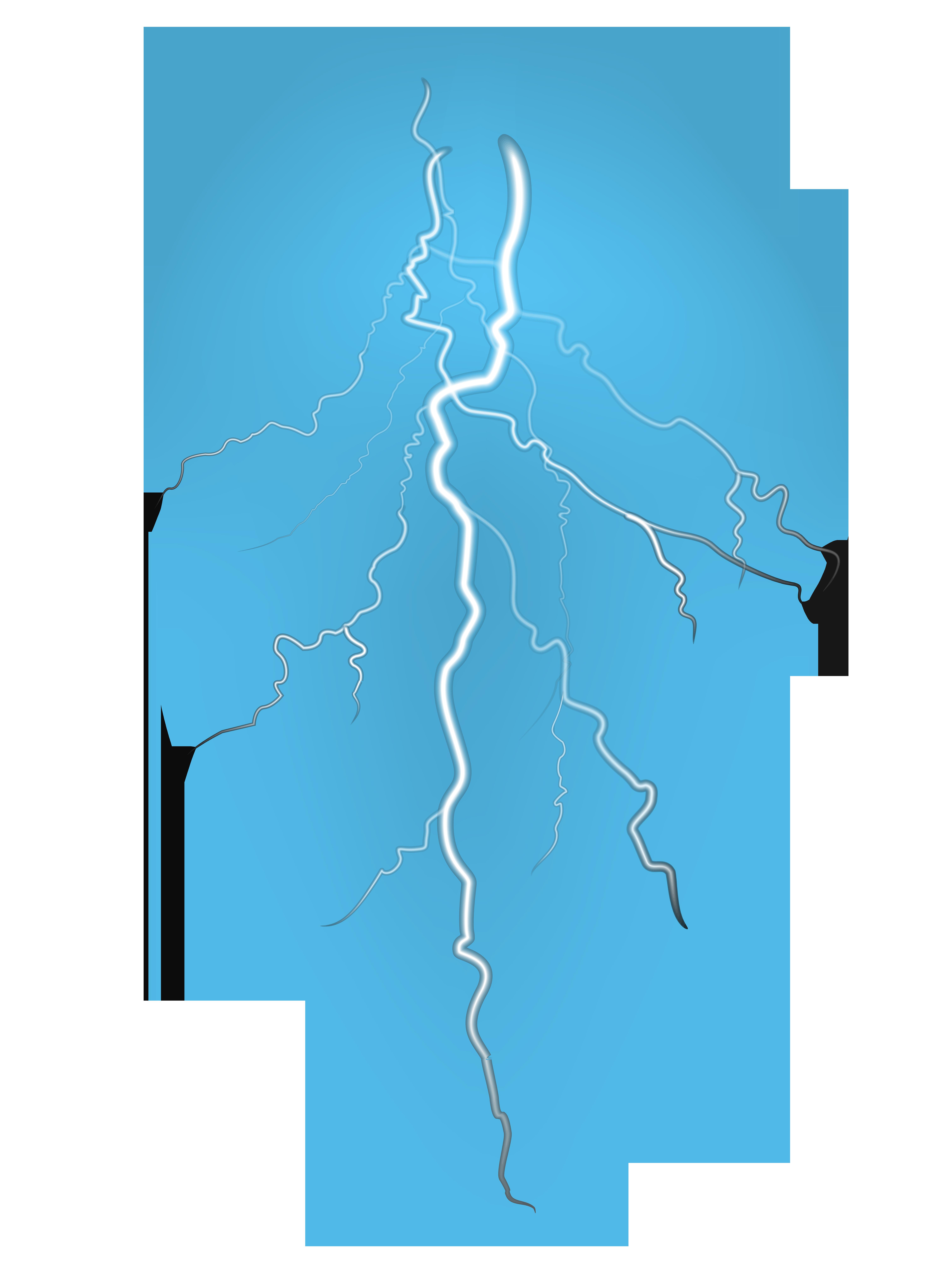 Lightning clipart transparent background. Png clip art image