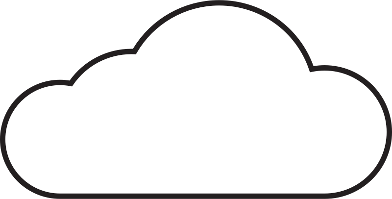 collection of clouds. Fight clipart cloud