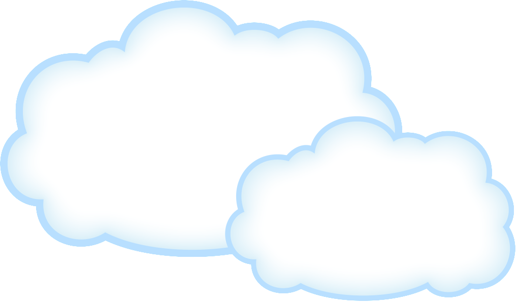 Clouds clipart translucent. Transparent png awesome free