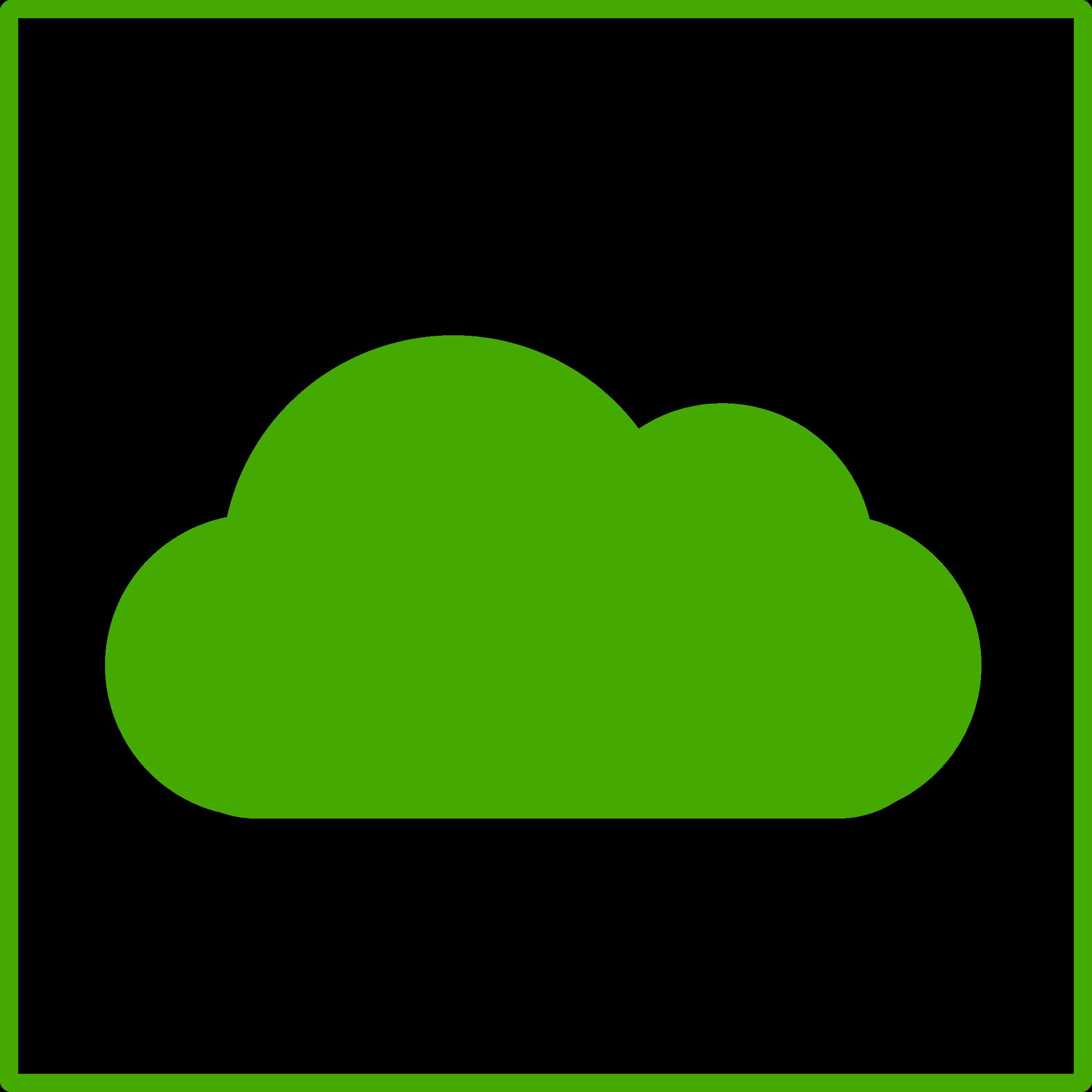 Green acur lunamedia co. Communication clipart cloud