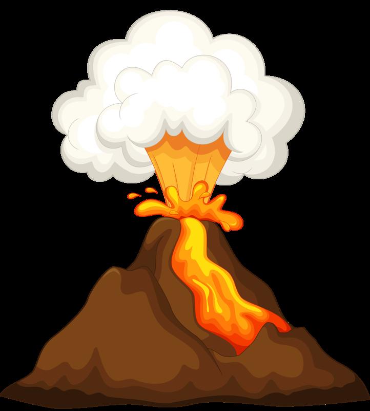 Tiki clipart volcano.  png pinterest clip