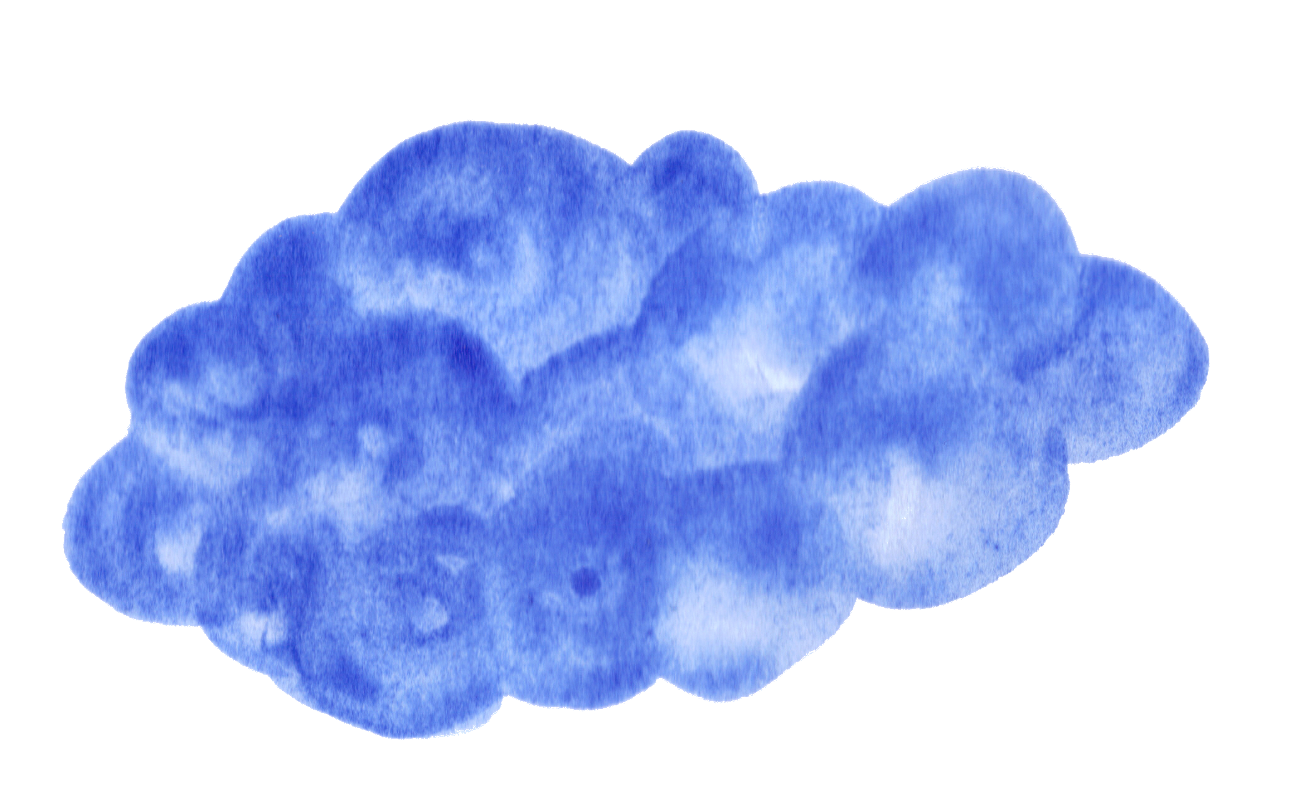 Cloud clipart watercolor. Transparent png clouds awesome