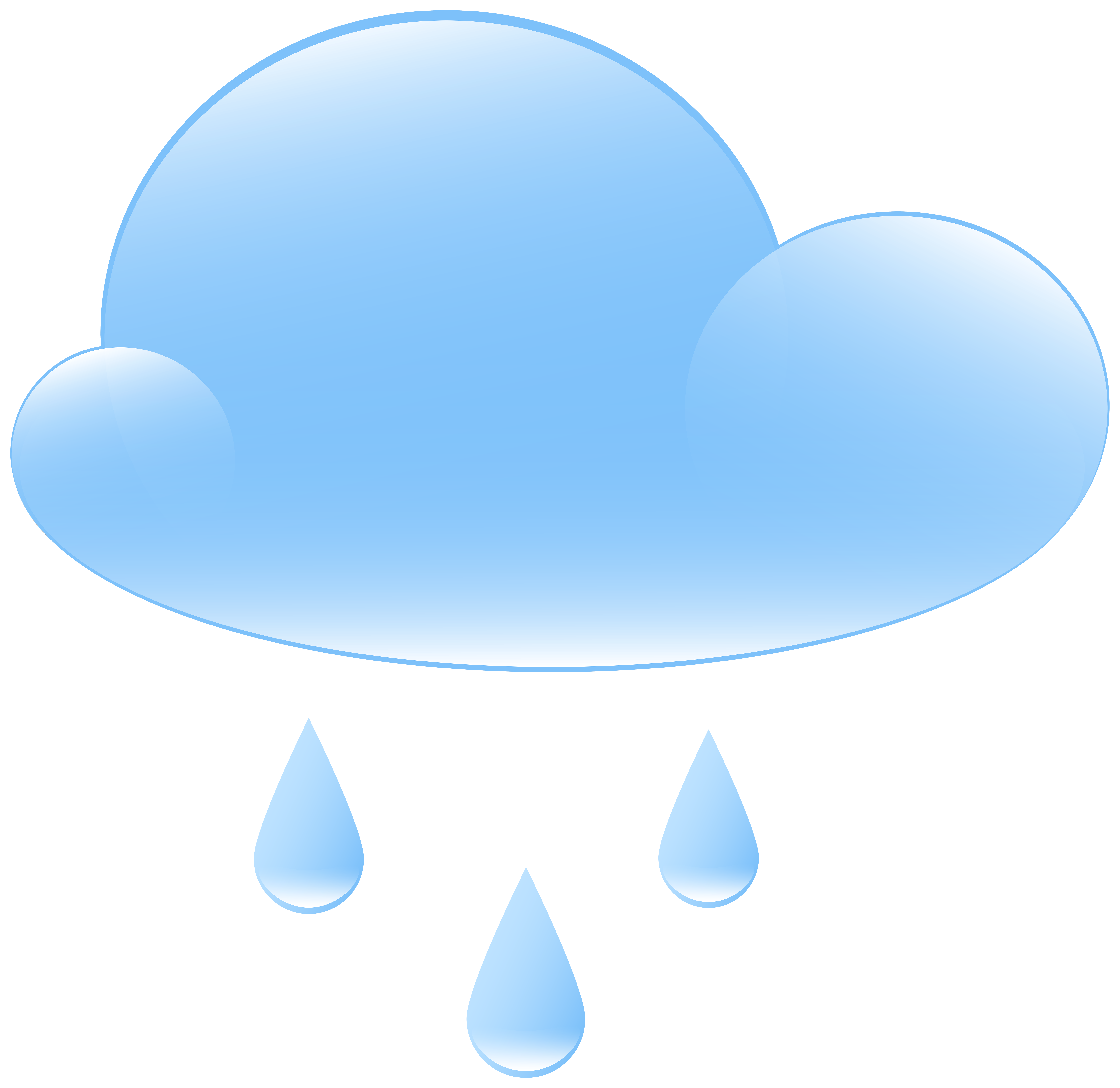 Clouds clipart weather. Rainy cloud icon png