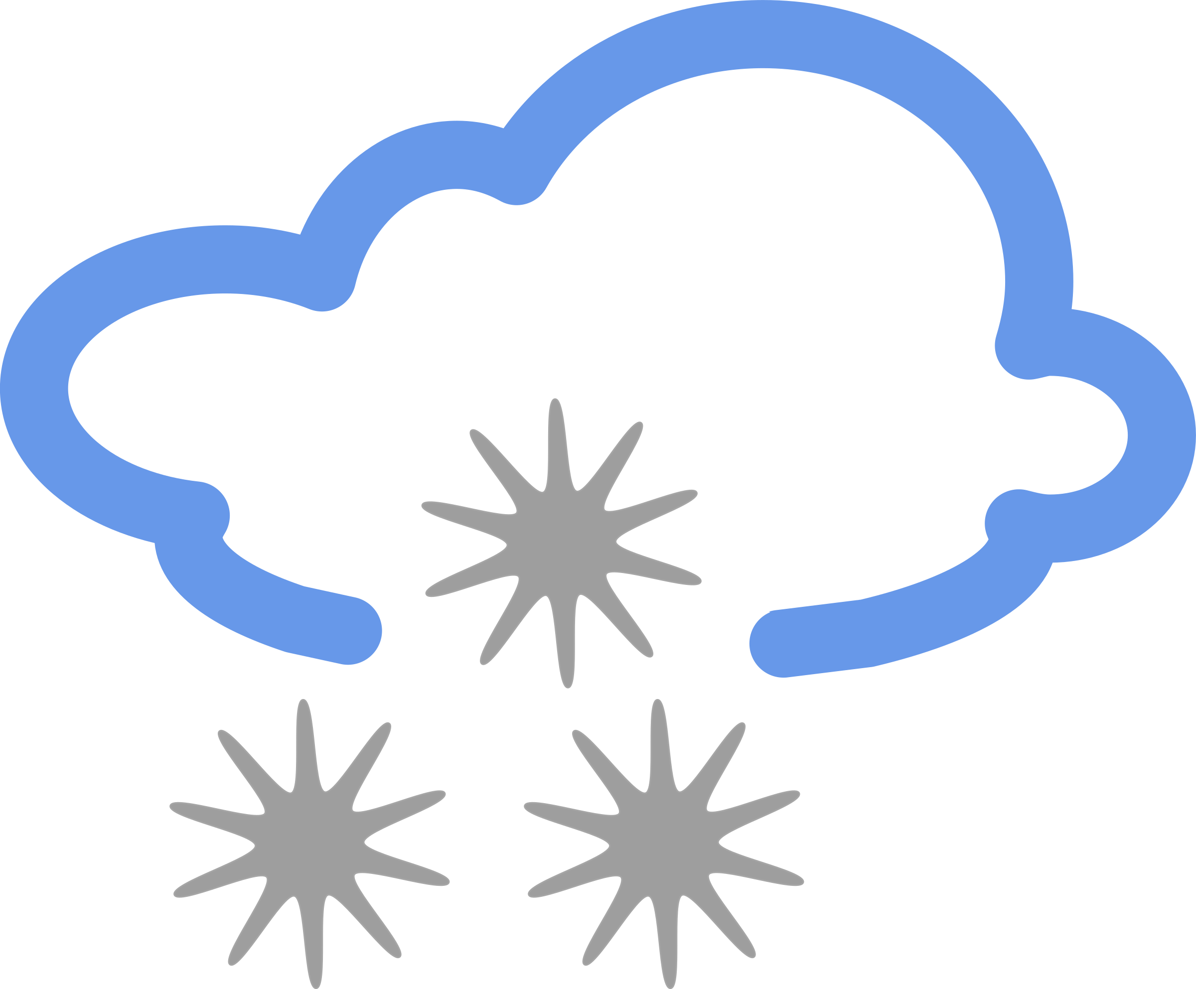 Winter clipart weather. Simple symbols big image