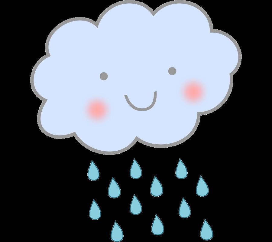 Cloud royalty free clip. Winter clipart rain