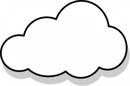 Cloud panda free images. Clipart clouds
