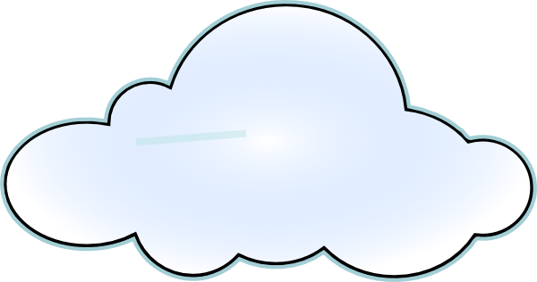 Cloud clip art at. Clipart clouds
