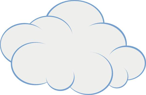 Cloud clip art for. Clipart clouds